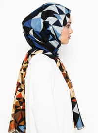 Blue - Ethnic - Shawl