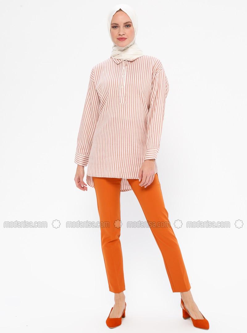 Mustard - Viscose - Pants
