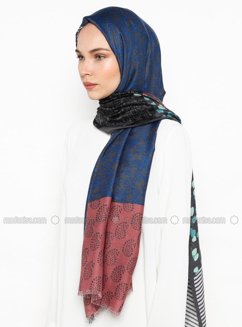 Lilac - Ethnic - Shawl