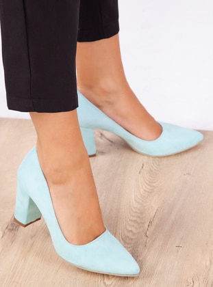 Mint - High Heel - Shoes