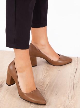 Mink - High Heel - Shoes - Ayakkabı Havuzu