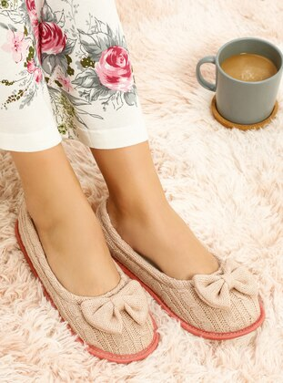 Pink - Flat - Flat Shoes
