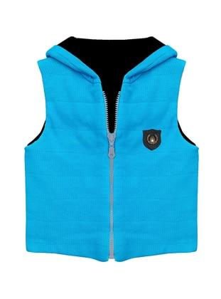 - Blue - Boys` Vest