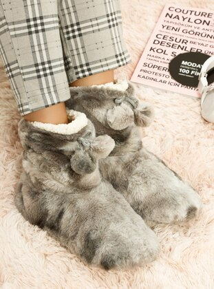 Casual - Smoke - Home Shoes