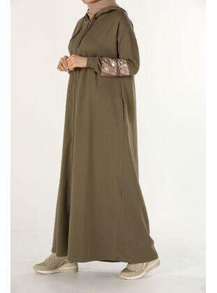 Khaki - Abaya