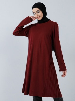 Cherry - Crew neck - Acrylic -  - Tunic