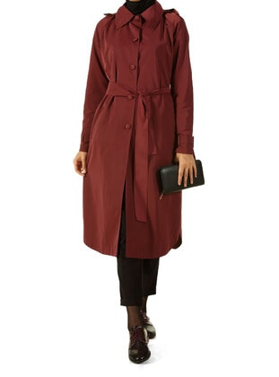 Cherry - Trench Coat