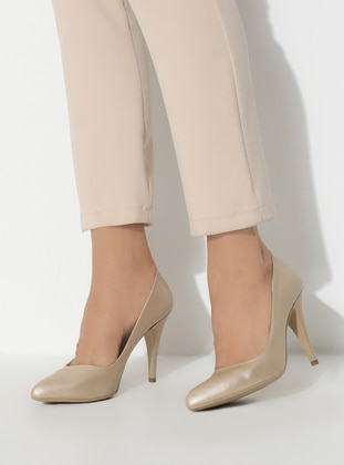 Gold - High Heel - Shoes