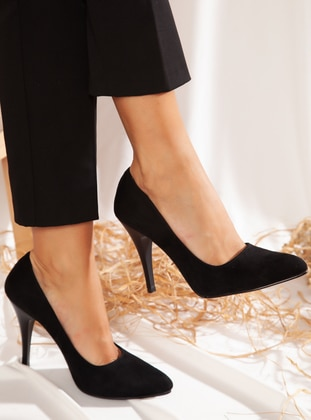 Black - High Heel - Shoes - Ayakkabı Havuzu