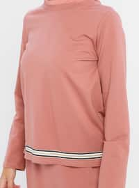 Dusty Rose - Stripe - Unlined -  - Suit