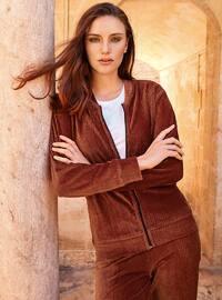 Modal -  - Maroon - Loungewear Suits