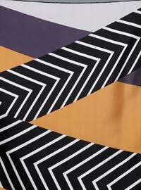 Multi - Printed - Digital Printing - %100 Silk - Scarf