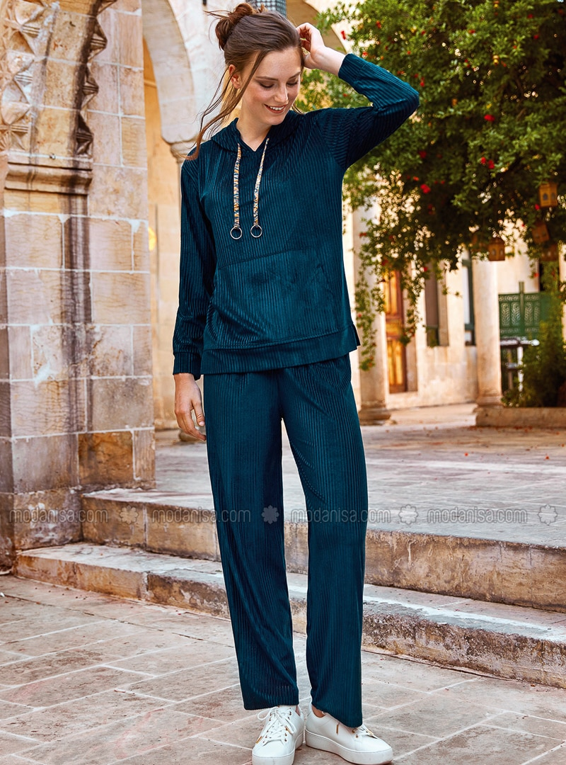 Navy Blue - Loungewear Suits