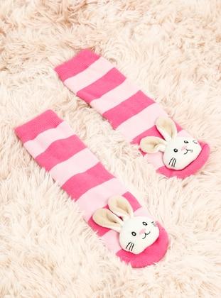 Fuchsia - Pink - Socks