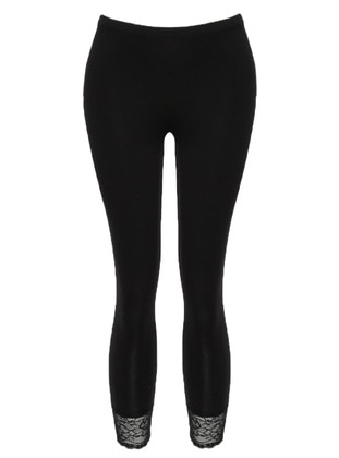 Black -  - Legging