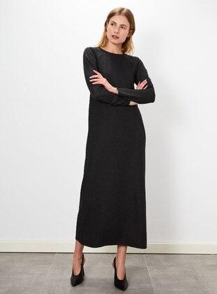 Printed - Anthracite - Dress