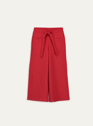 Red - Girls` Pants - LC WAIKIKI