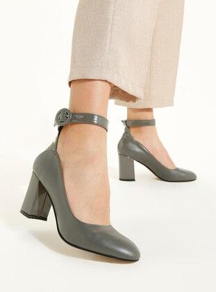 Gray - High Heel - Heels