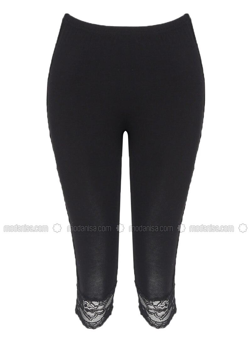 Black -  - Legging