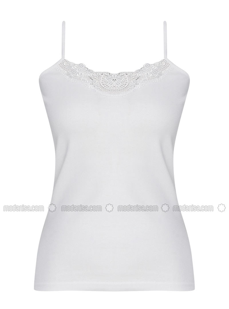 White -  - Undershirt