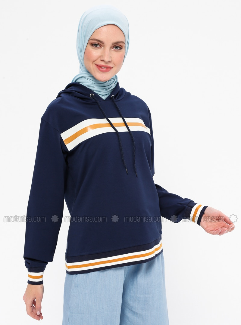 Navy Blue -  - Tracksuit Top