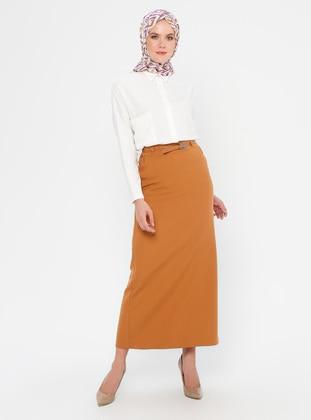 Cinnamon - Fully Lined - Viscose - Skirt