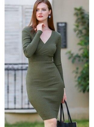 Khaki - Loungewear Dresses