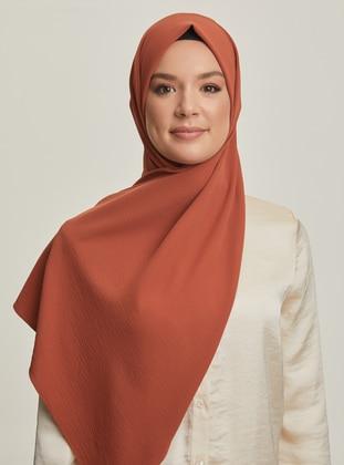 Cinnamon - Plain - Shawl - Şal