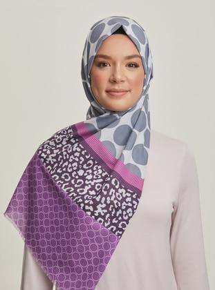 Multi - Printed - Cotton - Shawl - Şal