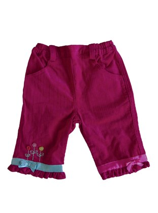 - Unlined - Fuchsia - Baby Pants
