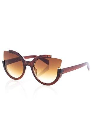 Brown - Sunglasses - Y-London