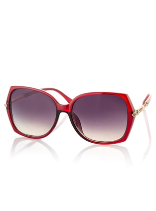 Red - Sunglasses - Polo55