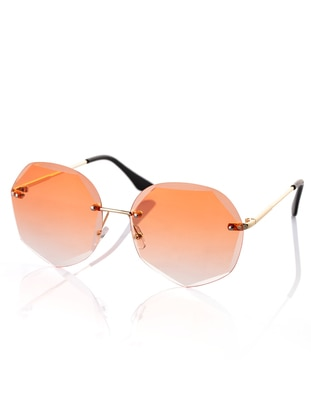 Orange - Sunglasses - Polo55