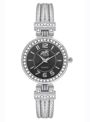 Silver tone - Watch - Polo55