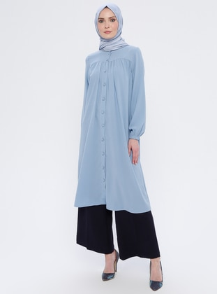 Baby Blue - Crew neck - Tunic