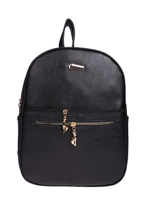 Black - Backpacks - Judour Bags