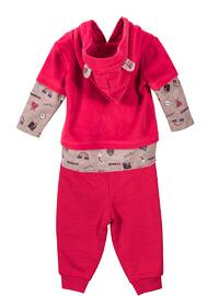 Multi -  - Unlined - Fuchsia - Baby Suit