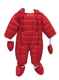 - Unlined - Red - Baby Jacket
