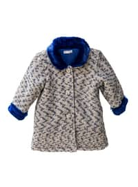 Multi - Button Collar -  - Unlined - Saxe - Baby Jacket