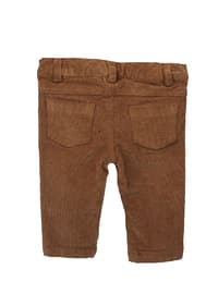 - Unlined - Brown - Baby Pants