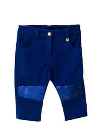 - Unlined - Saxe - Baby Pants