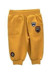 - Unlined - Yellow - Baby Pants