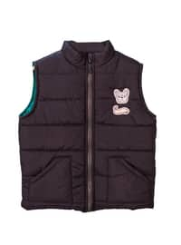 Polo neck -  - Unlined - Green - Baby Vest