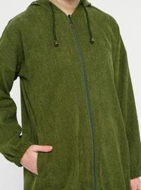 Khaki - Unlined - Topcoat