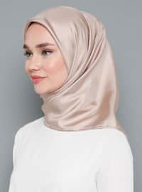 Powder - Plain - %100 Silk - Twill - Scarf