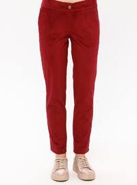 Maroon - Unlined - Suit