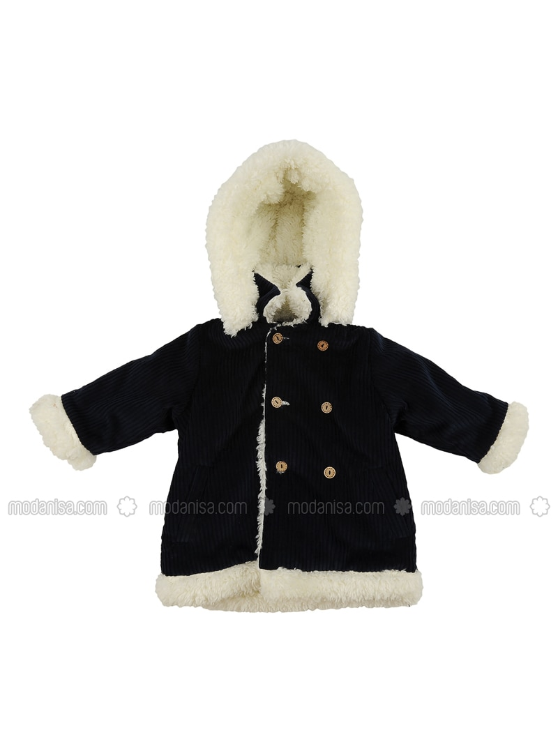 - Unlined - Navy Blue - Baby Jacket