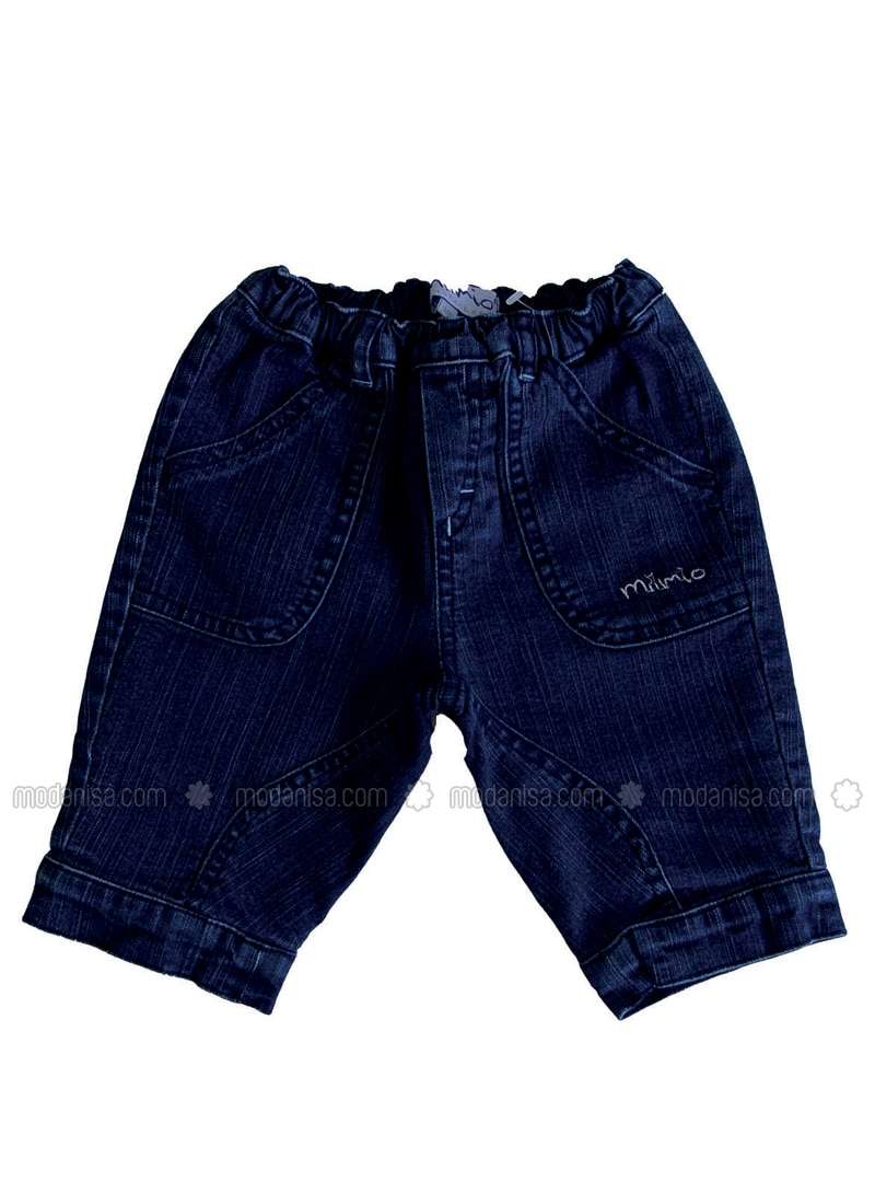 - Unlined - Blue - Baby Pants