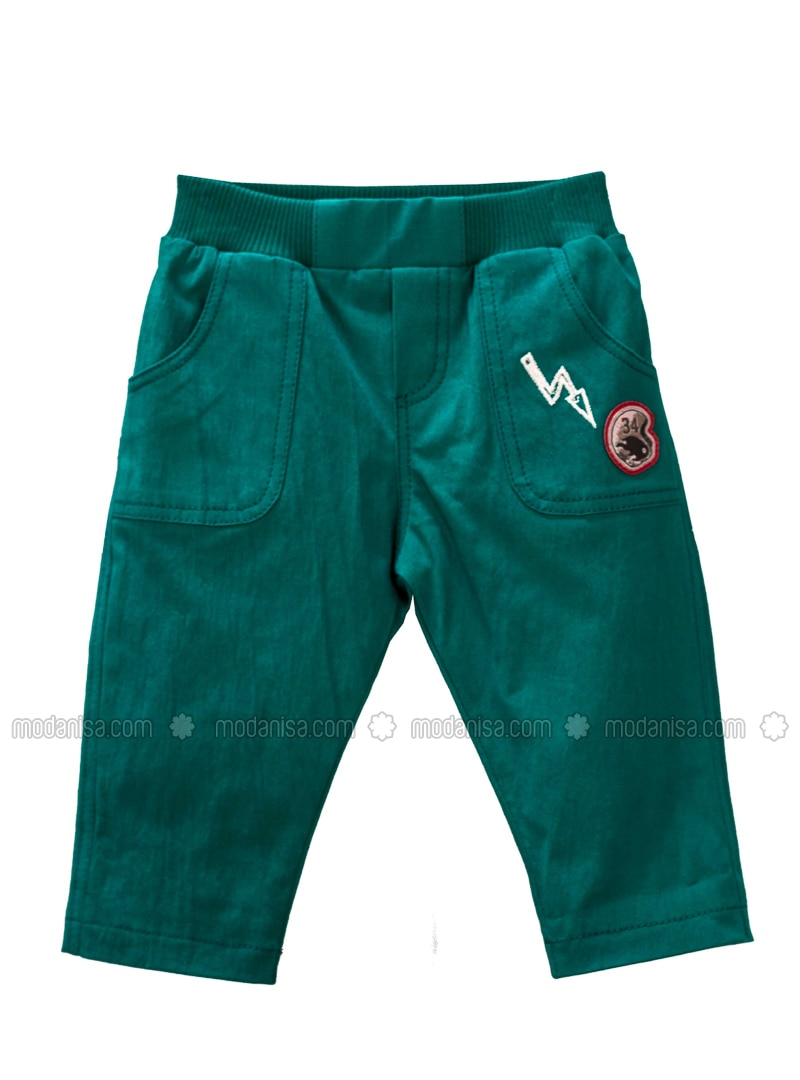 - Unlined - Green - Baby Pants