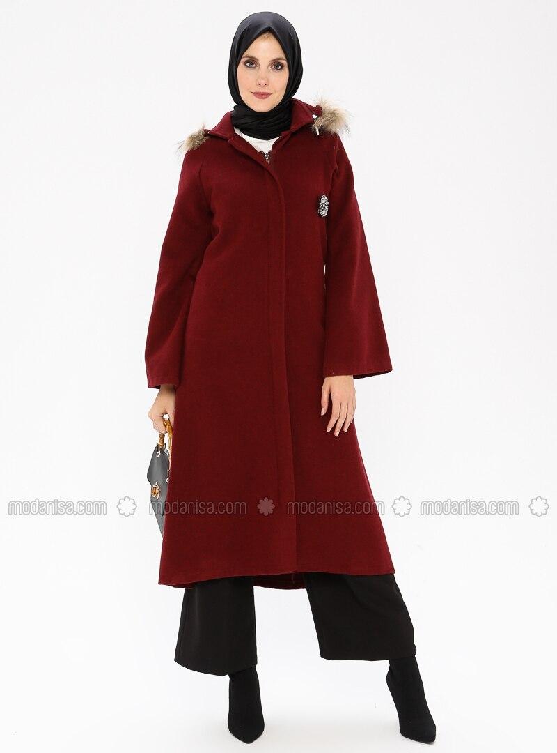 Plum - Unlined - Coat